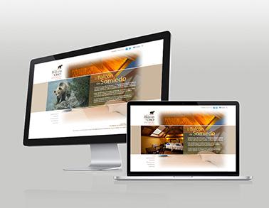 Website El Balcón del Oso