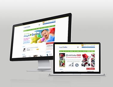 Web e-commerce Munbebe