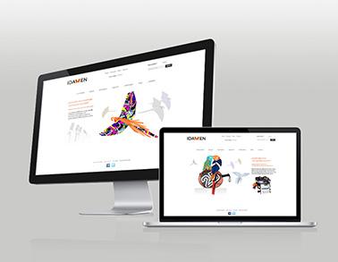Web e-commerce IDAWEN