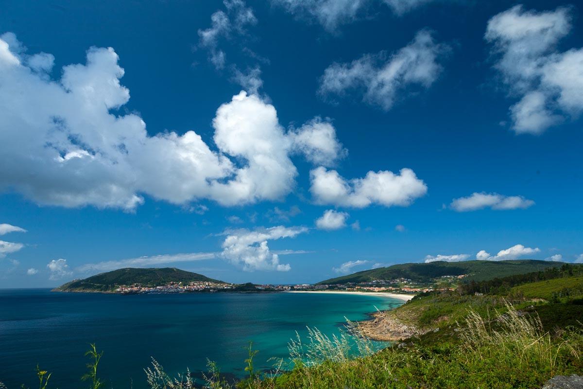 Playa de Langosteira y cabo de Finisterre