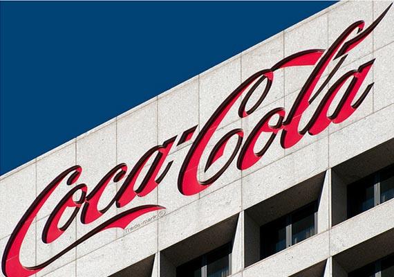 Logo de Coca Cola en la sede