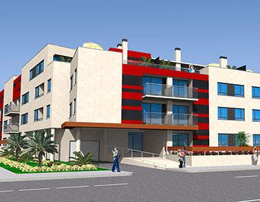 Infografía arquitectónica 3D Promogest Sabarís