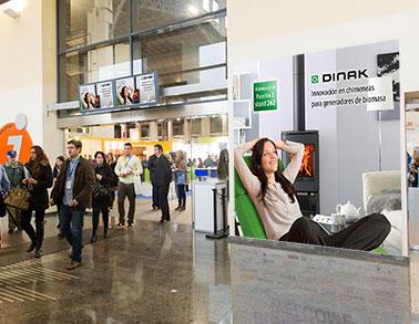 Cartel Dinak feria Biomasa