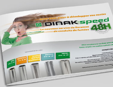 Catálogo Dinak Speed Francia